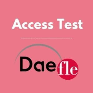 DAEFLE Access Test